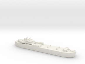 landing ship tank Mk 3 1/1800  1 in White Natural Versatile Plastic