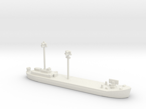 landing ship tank Mk 2 1/1800 fdt 1 in White Natural Versatile Plastic