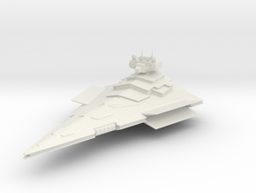 5000 Imperial Victory class Star Wars in White Natural Versatile Plastic