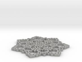 Mandala Lace in Aluminum