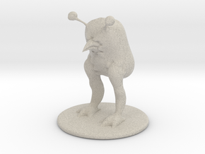 DnD sack creature in Natural Sandstone