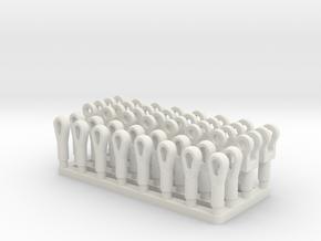 Pendant Set Manitowoc 4100 in White Natural Versatile Plastic