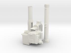 Soporte-TOW-Corto-35-proto-01 in White Natural Versatile Plastic