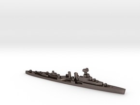HMS Coventry 1:3000 WW2 naval cruiser in Polished Bronzed-Silver Steel