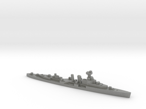 HMS Coventry 1:3000 WW2 naval cruiser in Gray PA12