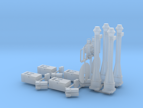 EP728 Gate post pack in Smooth Fine Detail Plastic