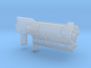 Earth Wars Rocket Launcher (5mm) in Smooth Fine Detail Plastic