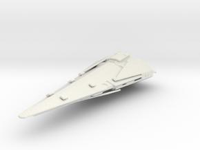 2500 Imperial Raider class Star Wars in White Natural Versatile Plastic