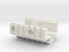 G&G/A&K ZM LR-300 tri-rail in White Natural Versatile Plastic