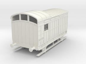 o-43-nlr-kesr-luggage-brake-coach in White Natural Versatile Plastic