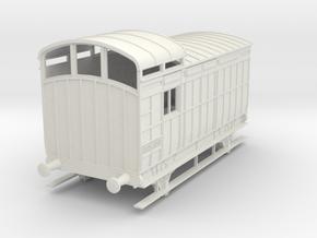 o-32-nlr-18-6-luggage-brake-coach in White Natural Versatile Plastic