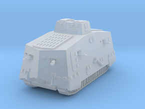 A7V Tank 1/220 in Smooth Fine Detail Plastic