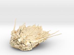 Trilobite - Kettneraspis prescheri in 14K Yellow Gold