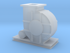 HO Scale Blower in Smooth Fine Detail Plastic