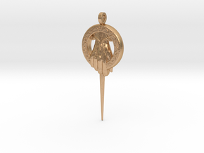 Hand of the King Keychain Game of Thrones in Natural Bronze