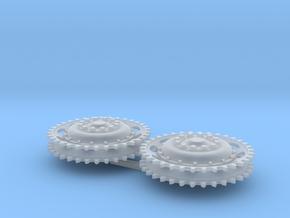 L60_Irish_Toldi_sprocket_1/35_scale in Smoothest Fine Detail Plastic