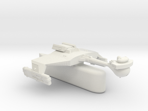 3125 Scale Klingon D5H Light Tactical Transport WE in White Natural Versatile Plastic