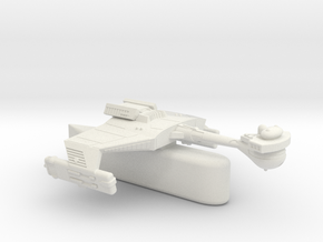 3788 Scale Klingon D5HK Light Tactical Transport  in White Natural Versatile Plastic