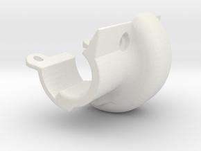 3DTRX-Axle-LOWER PART-V2 -SYMETRIC in White Natural Versatile Plastic