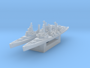 HMS Belfast 1/4800 in Smooth Fine Detail Plastic