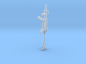 1:6 Miniature Airsoft MP5K-PDW in Smooth Fine Detail Plastic