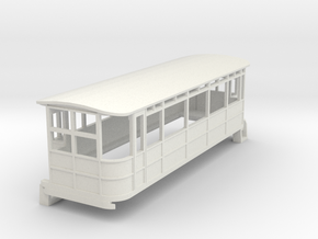 o-87-dublin-blessington-drewry-railcar in White Natural Versatile Plastic