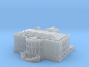 The White House 1/1000 in Smooth Fine Detail Plastic