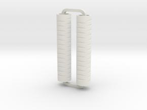 Slimline Pro diamonds ARTG in White Natural Versatile Plastic