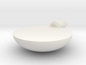 focal pequeña in White Natural Versatile Plastic
