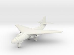 (1:144) Arado Ar Projekt II (Gear down) in White Natural Versatile Plastic