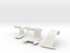 1:1 scale German Panzer Tool Clamp type I in White Natural Versatile Plastic