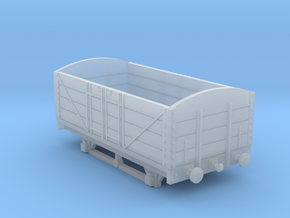 L&BR Open Wagon w/ Buffers OO Scale in Smooth Fine Detail Plastic