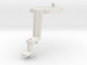 Attelage Autorail 41 MEHANO 1 Piece in White Natural Versatile Plastic: 1:87 - HO