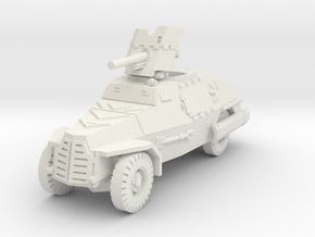 Marmon Herrington mk2 (Pak 36) 1/87 in White Natural Versatile Plastic
