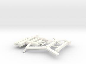 HEAVY CROSSBOW 2  in White Processed Versatile Plastic