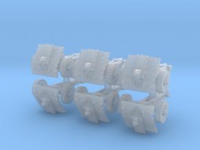 LeIg 18 support gun (6 pieces) 1/285 in Smooth Fine Detail Plastic