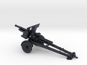 1/72 IJA Type 91 105mm Howitzer towed (motorized) in Black PA12