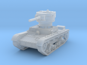 T-26B mid 1/285 in Smooth Fine Detail Plastic