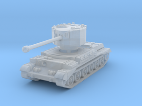 Challenger tank scale 1/285 in Smooth Fine Detail Plastic