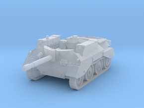 Alecto SPG tank scale 1/285 in Smooth Fine Detail Plastic