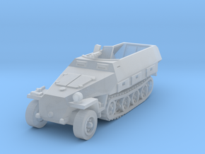 Sdkfz 251 scale 1/285 in Smooth Fine Detail Plastic
