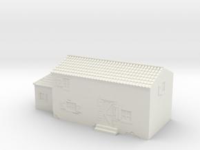 Italian style house 1/144 in White Natural Versatile Plastic