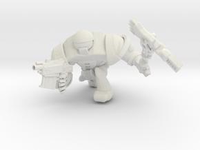SPACEMARINER 8 in White Natural Versatile Plastic