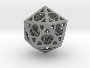 Cage d20 in Gray PA12