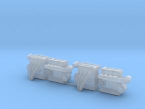 Set of 4 - Honda DOHC Engine  in Smooth Fine Detail Plastic