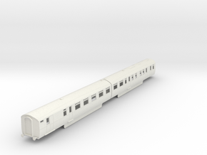 b-76-lner-coronation-twin-rest-3rd-brake in White Natural Versatile Plastic