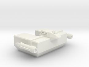 Omni Scale LDR Small Freighter (Class-I) CVN in White Natural Versatile Plastic