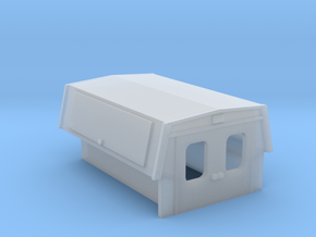 Utility Enclosure Truck Bed 1-72 Scale in Smooth Fine Detail Plastic
