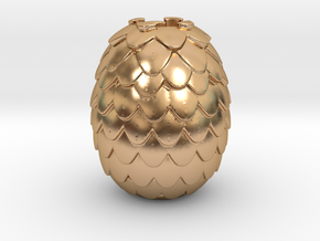 Dragon Egg Game of Thrones Pandora Charm in Polished Bronze