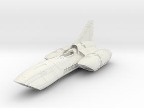 PYTHON_Fuselage/// in White Natural Versatile Plastic